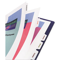 AVE11552 - Avery® Print-On™ Dividers