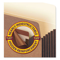 SMD74395 - Smead® Redrope Tuff® Pocket Drop Front File Pockets with Tyvek® Lined Gussets