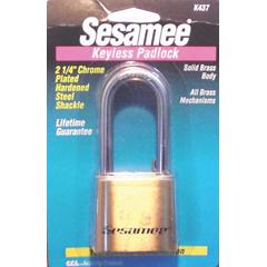 CCL197-K0437 - CCLSesame Keyless Padlocks