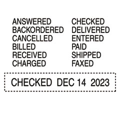 USST5117 - Trodat® Professional 12-Message Date Stamp