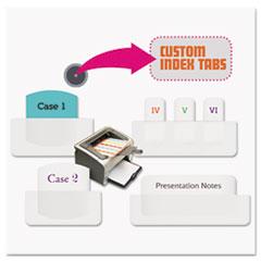 RTG33001 - Redi-Tag® Laser and Inkjet Printable Index Tabs