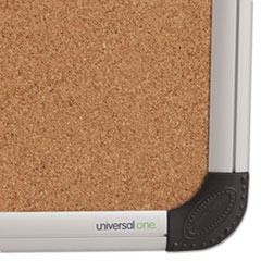 UNV43712 - Universal® Cork Bulletin Board with Aluminum Frame