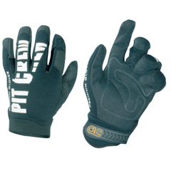 CLC201-220BL - CLC Custom Leather Craft - Pit Crew Gloves, Black, Large
