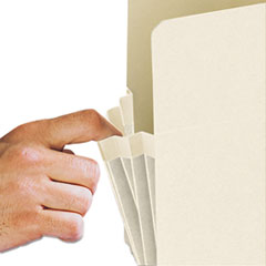 SMD76124 - Smead® Manila End Tab File Pockets