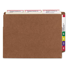 SMD73790 - Smead® Heavy-Duty Redrope Drop Front End Tab File Pockets