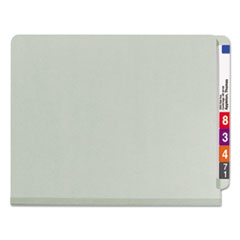 SMD26820 - Smead® Extra-Heavy Recycled End Tab Classification Folders w/SafeSHIELD™ Coated Fasteners