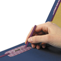 SMD29784 - Smead® Colored Pressboard End Tab Classification Folders w/SafeSHIELD™ Coated Fasteners