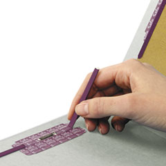 SMD29810 - Smead® Extra-Heavy Recycled End Tab Classification Folders w/SafeSHIELD™ Coated Fasteners