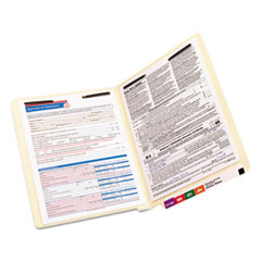 SMD34105 - Smead® TUFF® Laminated Fastener Folders with Reinforced Tab