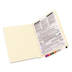 SMD34110 - Smead® Heavyweight Manila End Tab Folders with Fasteners