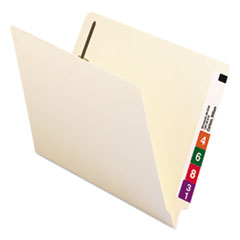 SMD34215 - Smead® Heavyweight Manila End Tab Folders with Fasteners