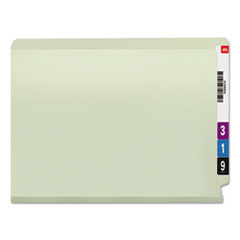 SMD34725 - Smead® End Tab Expansion Recycled Pressboard File Folders w/SafeSHIELD™ Coated Fasteners