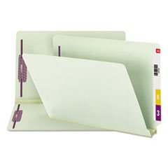 SMD37715 - Smead® End Tab Expansion Recycled Pressboard File Folders w/SafeSHIELD™ Coated Fasteners
