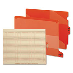 SMD61950 - Smead® Colored Poly Outguides with Pockets