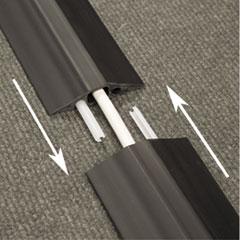 DLNFC68B - D-Line® Medium-Duty Floor Cable Cover