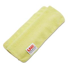 BWK16YELCLOTH - Boardwalk® Lightweight Microfiber Cleaning Cloths