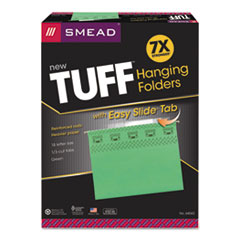 SMD64042 - Smead® TUFF® Hanging Folders with Easy Slide™ Tab