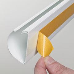 DLNR5FT5025W - D-Line® Decorative Desk Cord Cover