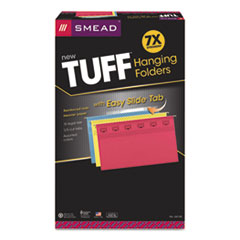 SMD64140 - Smead® TUFF® Hanging Folders with Easy Slide™ Tab