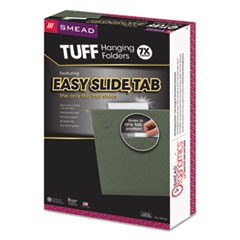 SMD64136 - Smead® TUFF® Hanging Folders with Easy Slide™ Tab