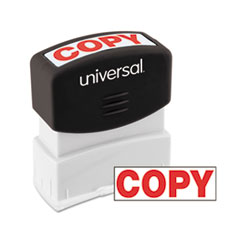 UNV10048 - Universal® Pre-Inked One-Color Stamp