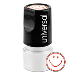 UNV10080 - Universal® Pre-Inked One-Color Round Stamp