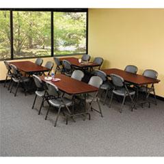 ICE55224 - Iceberg Premium Wood Laminate Folding Table