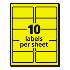 AVE5978 - Avery® High-Visibility Labels