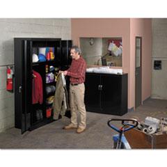 TNNJ2478SUCLGY - Tennsco Assembled Jumbo Combination Storage Cabinet