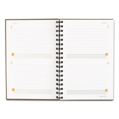 AAG80620330 - Plan. Write. Remember. Planning Notebook Two Days Per Page, 6 x 9, Gray