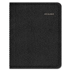 AAG7695005 - QuickNotes Weekly/Monthly Appointment Book, 10 7/8 x 8 1/4, Black, 2020