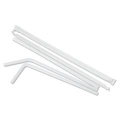 BWKFSTW775W25 - Boardwalk Flexible Wrapped Straws