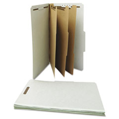 UNV10297 - Universal® Four-, Six- and Eight-Section Classification Folders