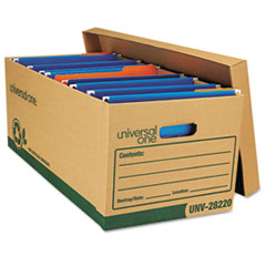 UNV28220 - Universal® Recycled Extra Strength Record Storage Boxes