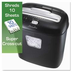 SWI1757393 - Swingline® EX10-05 Light-Duty Cross-Cut Shredder