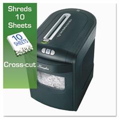 SWI1757392 - Swingline® EX10-06 Cross-Cut Jam Free Shredder