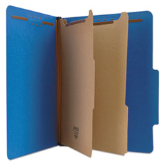 UNV10301 - Universal® Bright Colored Pressboard Classification Folders