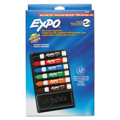 SAN80556 - EXPO® Low-Odor Dry Erase Marker and Organizer Kit