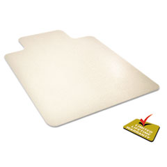 DEFCM2G112PET - deflect-o® EnvironMat Recycled Anytime Use Chair Mat for Hard Floor