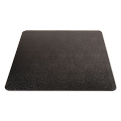 DEFCM11442FBLK - deflecto® EconoMat® Occasional Use Chair Mat for Commercial Low Pile Carpeting
