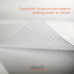 DEFCM11142PC - deflect-o® Polycarbonate Chair Mat