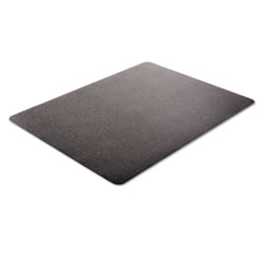 DEFCM21242BLK - deflecto® EconoMat® Non-Studded Anytime Use Chairmat for Hard Floors