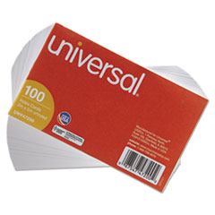 UNV47200 - Universal® Recycled Index Cards