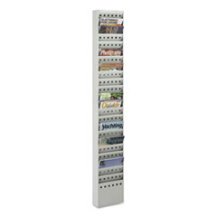 SAF4322GR - Safco® Steel Magazine Rack