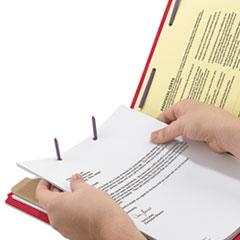 SMD13731 - Smead® 4-Section Pressboard Top Tab Classification Folders w/SafeSHIELD™ Coated Fastener