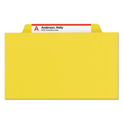 SMD19098 - Smead® Colored Pressboard 8-Section Top Tab Classification Folders with SafeSHIELD™ Coated Fastener