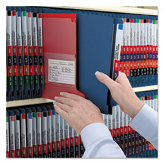 SMD26784 - Smead® Colored Pressboard End Tab Classification Folders w/SafeSHIELD™ Coated Fasteners