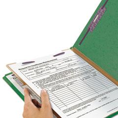 SMD13733 - Smead® 4-Section Pressboard Top Tab Classification Folders w/SafeSHIELD™ Coated Fastener