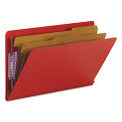 SMD29783 - Smead® Colored Pressboard End Tab Classification Folders w/SafeSHIELD™ Coated Fasteners