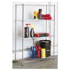 ALESW843614SR - Alera® Light-Duty Residential Wire Shelving Kit